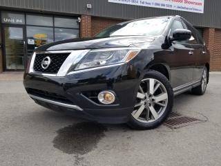 Used 2014 Nissan Pathfinder PLATINUM NAVI DVD BACK UP CAMERA 4WD!!! for sale in North York, ON