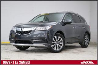 Used 2016 Acura MDX Tech. - Cuir Gps for sale in Montréal, QC