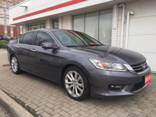 Used 2015 Honda Accord Touring Bluetooth, Back Up Camera, Navigation, and More! for sale in Waterloo, ON