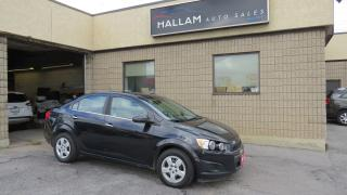 Used 2013 Chevrolet Sonic LT Auto Bluetooth, Cruise Control, for sale in Kingston, ON