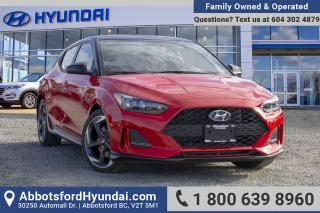 New 2019 Hyundai Veloster TURBO TECH for sale in Abbotsford, BC