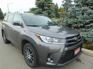Used 2017 Toyota Highlander XLE for sale in Brampton, ON