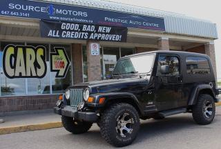 Used 2006 Jeep Wrangler UNLIMITED EXTENDED for sale in Brampton, ON