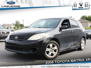 Used 2008 Toyota Matrix Xr A/c Gr for sale in Victoriaville, QC
