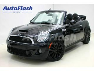 Used 2012 MINI Cooper S Turbo Convertible for sale in St-Hubert, QC