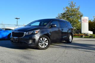 Used 2017 Kia Sedona LX PL/PW/AC/AUTO/BC for sale in Quesnel, BC