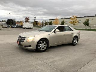 Used 2008 Cadillac CTS Panoramic roof, Leather, 3/Y Warranty Availab for sale in Toronto, ON