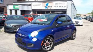 Used 2012 Fiat 500 Sport P-MOON, BLUETOOTH for sale in Etobicoke, ON