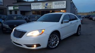 Used 2012 Chrysler 200 Limited LEATHER, P-MOON, BLUETOOTH for sale in Etobicoke, ON