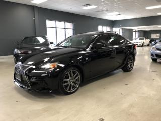 Used 2015 Lexus IS 250 F-SPORT*NAVIGATION*BACK-UP CAMERA*VERY LOW KM* for sale in North York, ON