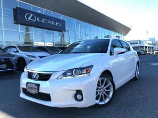 Used 2013 Lexus CT 200h CVT Premium Pacakge, Local NO Accidents for sale in North Vancouver, BC
