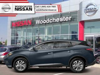 New 2018 Nissan Murano AWD SL  - $271.98 B/W for sale in Mississauga, ON