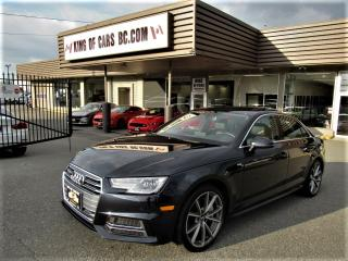 Used 2017 Audi A4 S-LINE Quattro for sale in Langley, BC
