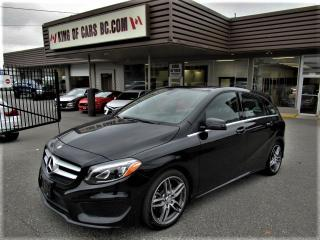 Used 2017 Mercedes-Benz B-Class B250 SPORT 4MATIC WITH AMG PACKAGE for sale in Langley, BC