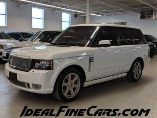 Used 2012 Land Rover Range Rover 4WD 4dr SC Autobiography for sale in Toronto, ON