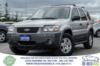 Used 2006 Ford Escape XLT V6 4WD SPOTLESS LOW KM'S CERTIFIED for sale in Bolton, ON