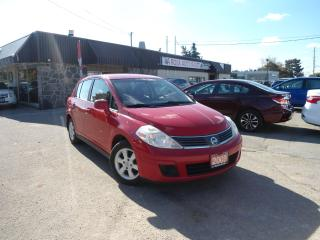 Used 2009 Nissan Versa AUTO SL NO ACCIDENT ALLOY RIMS VERY LOW KM, AUX,A/ for sale in Oakville, ON