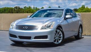Used 2008 Infiniti G35X Luxury,AWD,NAV,REAR-CAM, LEATHER, FULLY LOADED for sale in Mississauga, ON