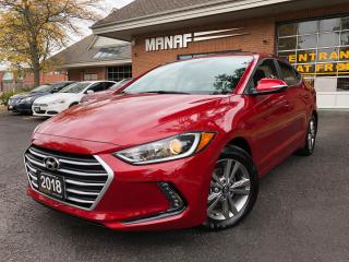 Used 2018 Hyundai Elantra GLS Sunroof Rear Cam Remote Starter Certified* for sale in Concord, ON