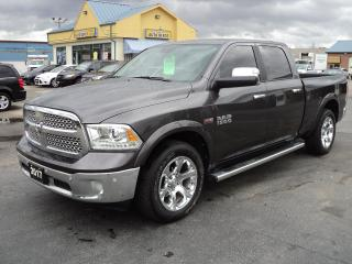 Used 2017 RAM 1500 Laramie CrewCab 4X4 Hemi 6ftBox for sale in Brantford, ON