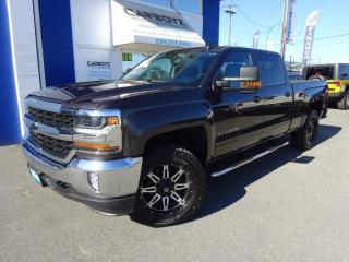 Used 2016 Chevrolet Silverado 1500 LT Plus, 4x4 Crew 6.5 Box, Nav, Leather, Max Tow!! for sale in Langley, BC