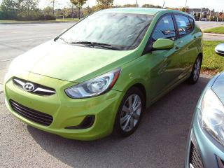 Used 2013 Hyundai Accent GLS for sale in Georgetown, ON