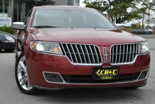 Used 2012 Lincoln MKZ FULLY LOADED - ONE OWNER - NO ACCIDENTS! for sale in Oakville, ON