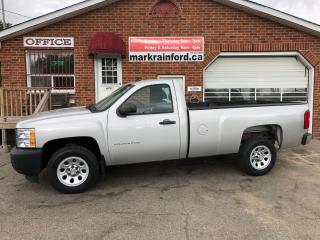 Used 2010 Chevrolet Silverado 1500 WT V6 A/C Regular Cab Long Box for sale in Bowmanville, ON