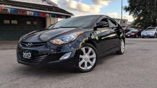 Used 2013 Hyundai Elantra ELANTRA CLEAN CARPROOF LTHR NAV BACKUP CAM  for sale in Mississauga, ON