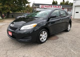 Used 2009 Toyota Matrix XR/Automatic/Certified/Accident Free/Gas Saver for sale in Scarborough, ON