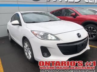 Used 2012 Mazda MAZDA3 GT for sale in Toronto, ON