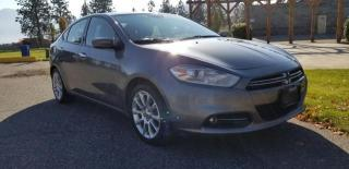 Used 2013 Dodge Dart Limited for sale in West Kelowna, BC