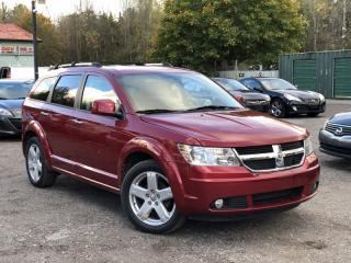 Used 2010 Dodge Journey R/T AWD 7-Pass Leather Back-Up Cam Bluetooth for sale in Holland Landing, ON