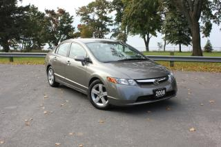 Used 2008 Honda Civic 4DR AUTO for sale in Oshawa, ON