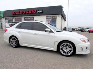 Used 2013 Subaru Impreza WRX STi STI SPORT-TECH TURBO AWD 6 SPEED CERTIFIED 2YR WARRANTY for sale in Milton, ON