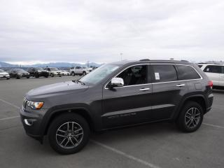 Used 2017 Jeep Grand Cherokee LIMITED 4WD for sale in Burnaby, BC