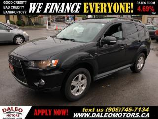 Used 2012 Mitsubishi Outlander LS 4WD | HEATED SEATS| FACTORY WARRANTY for sale in Hamilton, ON