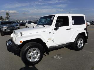 Used 2014 Jeep Wrangler SAHARA 4WD for sale in Burnaby, BC