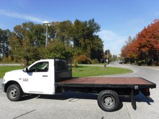 Used 2013 Dodge Ram 3500 Regular Cab 12 Foot Flat Deck 4WD for sale in Burnaby, BC