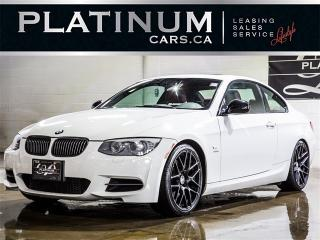 Used 2013 BMW 335i s, NAV,RED LEATHER, Parking Sensors for sale in Toronto, ON