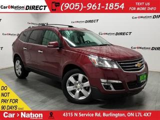 Used 2017 Chevrolet Traverse LT 1LT| AWD| DUAL SUNOOF| BACK UP CAM & SENSORS| for sale in Burlington, ON
