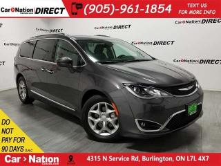 Used 2018 Chrysler Pacifica Touring-L Plus| PANO ROOF| LEATHER| DUAL DVD| for sale in Burlington, ON