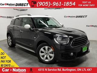 Used 2019 MINI Cooper Countryman Cooper| AWD| LEATHER| DUAL SUNROOF| for sale in Burlington, ON