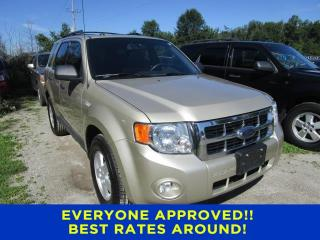 Used 2010 Ford Escape XLT for sale in Cookstown, ON