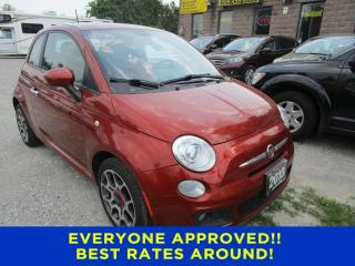 Used 2013 Fiat 500 Sport for sale in Cookstown, ON