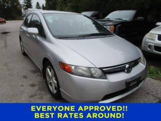 Used 2006 Honda Civic Sdn EX for sale in Cookstown, ON