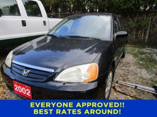 Used 2002 Honda Civic LX-G for sale in Cookstown, ON