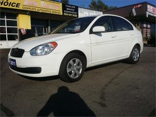 Used 2011 Hyundai Accent L for sale in Hamilton, ON