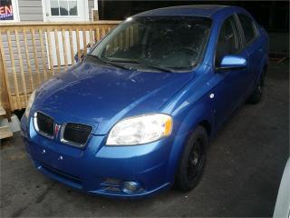 Used 2007 Pontiac Wave SE for sale in Hamilton, ON