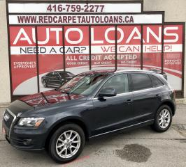 Used 2012 Audi Q5 2.0T Premium Plus Q5-ALL CREDIT ACCEPTED for sale in Scarborough, ON